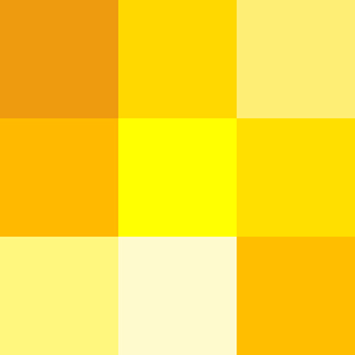 word for yellow