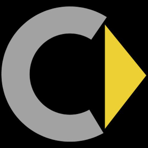 logo amp corporate identity letter �c� triangle