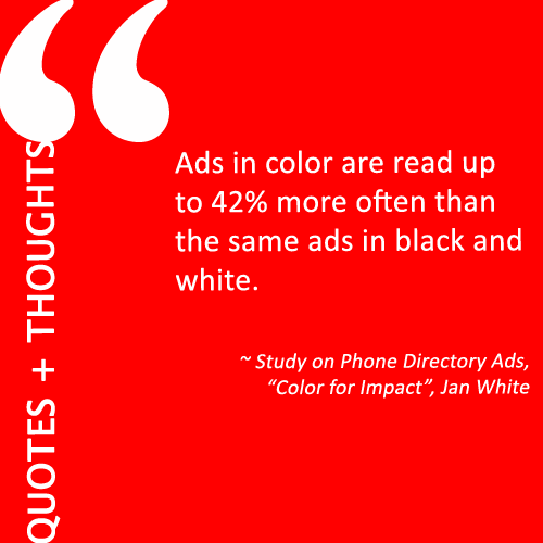 Quotes Thoughts On The Role Of Color In Brand Building Ideas