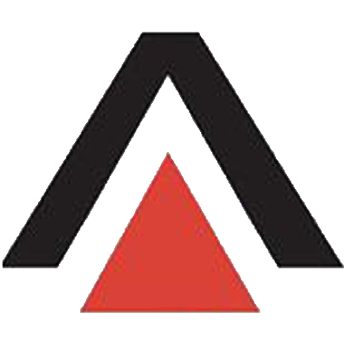 logo corporate identity red triangle doppelg228ngers 5
