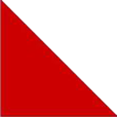 logo corporate identity red triangle doppelg228ngers 2