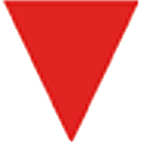 logo corporate identity red triangle doppelg228ngers 7